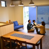 注文住宅 かっこいい工務店 規格住宅 熊本 ブレス 施工例 熊本市東区 ナチュラルモダン LDK