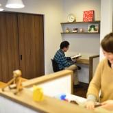 注文住宅 かっこいい工務店 規格住宅 熊本 ブレス 施工例 ナチュラルモダン 熊本市東区 ワークスペース