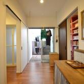 注文住宅 かっこいい工務店 規格住宅 熊本 ブレス 施工例 熊本市東区 ナチュラルモダン 洗濯物を干すスペース