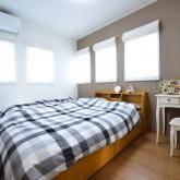 注文住宅 かっこいい工務店 規格住宅 熊本 ブレス 施工例 熊本市東区 ナチュラルモダン 寝室