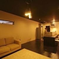 注文住宅 かっこいい工務店 規格住宅 熊本 ブレス 施工例 熊本市中央区 シンプルモダン リビング