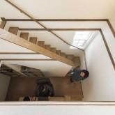 注文住宅 かっこいい工務店 栃木 ハウスデザイン イエプラン 施工例 南仏タイプ ロフト 階段
