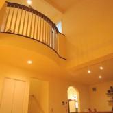 注文住宅 かっこいい工務店 鹿児島 ミューズ建築工房 かわいい家 オーダーメイド 施工例10 吹き抜けリビング