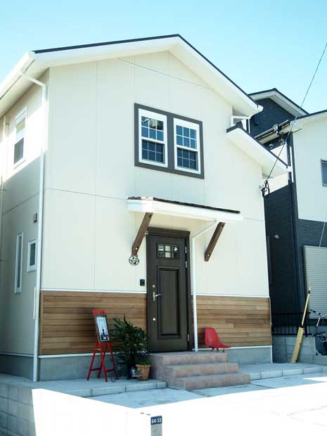 注文住宅 かっこいい工務店 鹿児島 ミューズ建築工房 かわいい家 オーダーメイド 施工例11 外観