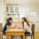 注文住宅 かっこいい工務店 熊本 ブレス ブレスホーム 施行例 プロヴァンス ダイニング&キッチン 造作キッチン 21f