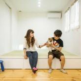 注文住宅 かっこいい工務店 熊本 ブレス ブレスホーム 施行例 プロヴァンス 小上がり 和室 21g