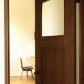 注文住宅 かっこいい工務店 規格住宅 熊本 ブレス 施工例 熊本市東区 ナチュラルモダン 木製ドア