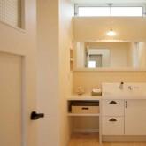 注文住宅 かっこいい工務店 輸入住宅 ブレス 施工事例 プロヴァンススタイル 23 造作洗面