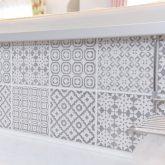 注文住宅 かっこいい工務店 宮城 輸入住宅 施行例 21 プロヴァンス 南仏スタイル オープンキッチン デザインタイル