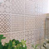 注文住宅 かっこいい工務店 宮城 輸入住宅 施行例 21 プロヴァンス 南仏スタイル オープンキッチン デザインタイル2