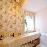 注文住宅 かっこいい工務店 宮城 輸入住宅 施行例 21 プロヴァンス 南仏スタイル トイレ