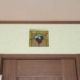 注文住宅 かっこいい工務店 宮城 輸入住宅 施行例 北米スタイル 22 ステンドグラス 飾り