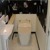 注文住宅 かっこいい工務店 東京 世田谷区 長野 松本市 Life Style Produce オリエンタルハウス 施行例4 オリジナルスタイル トイレ
