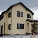 注文住宅 かっこいい工務店 宮城 富樫工業 施行例 30 オリジナルスタイル 外観 塗り壁