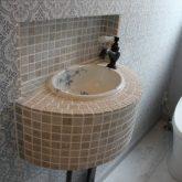 注文住宅 かっこいい工務店 宮城 富樫工業 施行例 30 オリジナルスタイル トイレ 造作手洗い洗面