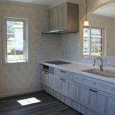 注文住宅 かっこいい工務店 宮城 富樫工業 施工例 36 ブリック 造作キッチン 木製