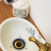 注文住宅 かっこいい工務店 熊本 ブレス ブレスホーム 施行例24 プロヴァンス トイレ 造作洗面
