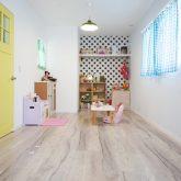 注文住宅 かっこいい工務店 熊本 ブレス ブレスホーム 施行例24 プロヴァンス 子ども部屋 自然健康塗料 造作棚