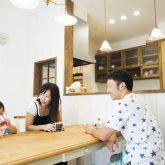 注文住宅 かっこいい工務店 熊本 ブレス ブレスホーム 施行例24 プロヴァンス ダイニング