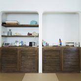 注文住宅 かっこいい工務店 熊本 ブレス ブレスホーム 施行例24 プロヴァンス 小上がり 和室 アール壁 塗り壁 造作棚 造作収納