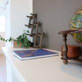 注文住宅 かっこいい工務店 栃木 イエプラン建築事務所 施工例12 ニューヨークスタイル ニューヨーカー ブリック リビング ワークスペース