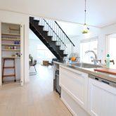 注文住宅 かっこいい工務店 栃木 イエプラン建築事務所 施工例13 オープンキッチン