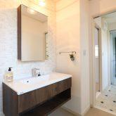 注文住宅 かっこいい工務店 栃木 イエプラン建築事務所 施工例13 ニューヨークスタイル ニューヨーカー 洗面化粧台