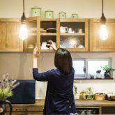 注文住宅 かっこいい工務店 熊本 ブレス ブレスホーム 施行例25 プロヴァン キッチン カップボード