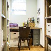 注文住宅 かっこいい工務店 熊本 ブレス ブレスホーム 施行例25 プロヴァン ワークスペース 造作机