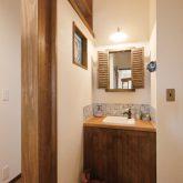 注文住宅 かっこいい工務店 熊本 ブレス ブレスホーム 施行例25 プロヴァンス 木製 造作洗面台