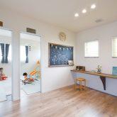 注文住宅 かっこいい工務店 熊本 ブレス ブレスホーム 施行例25 プロヴァンス 寝室&子ども部屋