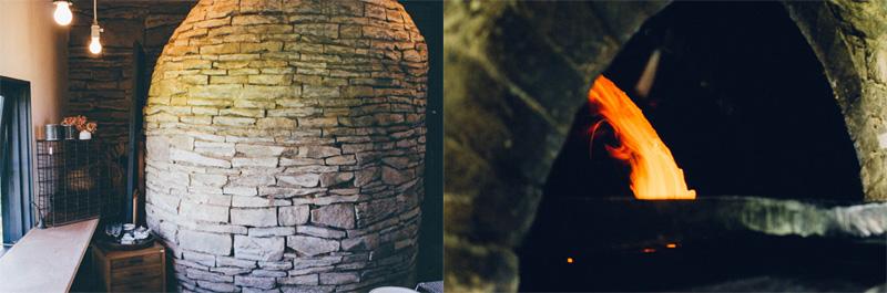 注文住宅 かっこいい工務店 インテリア わざわざ wazawaza パンと日用品のお店 長野県東御市御牧原 薪窯 ロケットストーブ式