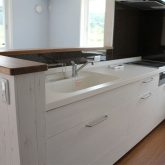 注文住宅 かっこいい工務店 宮城 富樫工業 施工例42 北米 アメリカンスタイル リビング キッチン