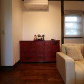注文住宅 かっこいい工務店 熊本 ブレス ブレスホーム 施工例27 和風建築 平屋 リビング 引き出し収納