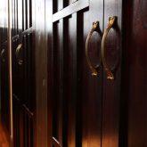注文住宅 かっこいい工務店 熊本 ブレス ブレスホーム 施工例27 和風建築 平屋 キッチン&ダイニング アイランドキッチン 収納庫