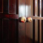 注文住宅 かっこいい工務店 熊本 ブレス ブレスホーム 施工例27 和風建築 平屋 玄関ホール ウォーキングクローゼット 取っ手