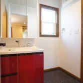 注文住宅 かっこいい工務店 栃木 イエプラン建築事務所 自由設計 施工例14 北米 ブルックリンスタイル 洗面脱衣所
