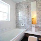 注文住宅 かっこいい工務店 栃木 イエプラン建築事務所 自由設計 施工例14 北米 ブルックリンスタイル バスルーム
