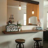 注文住宅 かっこいい工務店 栃木 イエプラン建築事務所 自由設計 施工例14 北米 ブルックリンスタイル キッチンカウンター