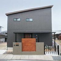 注文住宅 かっこいい工務店 岡山 アイム・コラボレーション アイムの家 施工例6 家族のコミュニケーションも個々の趣味も大切にした家 外観