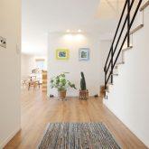 注文住宅 かっこいい工務店 岡山 アイム・コラボレーション アイムの家 施工例10 開放感のある家 玄関ホール