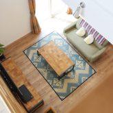 注文住宅 かっこいい工務店 岡山 アイム・コラボレーション アイムの家 施工例10 開放感のある家 吹き抜け リビング