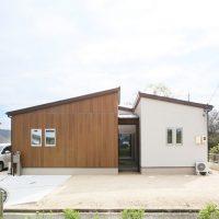 注文住宅 かっこいい工務店 岡山 アイム・コラボレーション アイムの家 施工例3 自分たちだけでは考えられなかった、理想を叶えてくれた平屋建ての家 外観