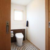 注文住宅 かっこいい工務店 岡山 アイム・コラボレーション アイムの家 施工例3 自分たちだけでは考えられなかった、理想を叶えてくれた平屋建ての家 トイレ