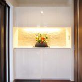 注文住宅 かっこいい工務店 岡山 アイム・コラボレーション アイムの家 施工例7 収納が豊富、動線に配慮した家 玄関ホール