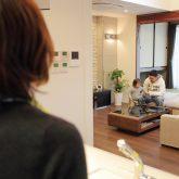 注文住宅 かっこいい工務店 岡山 アイム・コラボレーション アイムの家 施工例7 収納が豊富、動線に配慮した家 オープンキッチン リビングまで一望