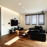 注文住宅 かっこいい工務店 岡山 アイム・コラボレーション アイムの家 施工例8 キッチンを空間のメインステージに リビング