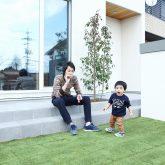 注文住宅 かっこいい工務店 岡山 アイム・コラボレーション アイムの家 施工例9 ゼロエネルギー住宅 zeh テラス