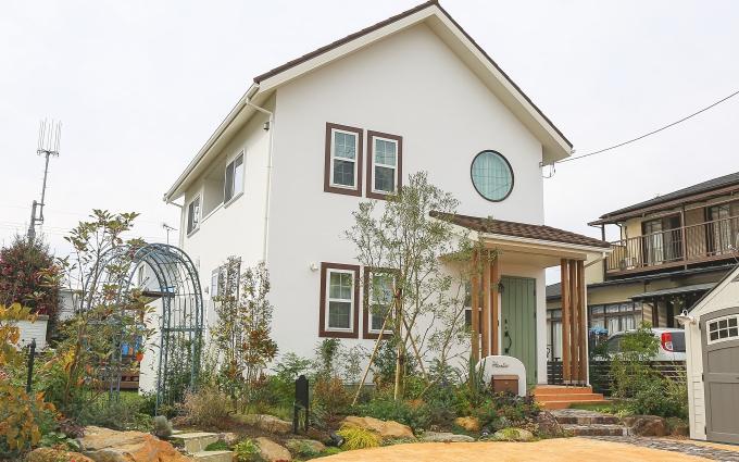 注文住宅 かっこいい工務店 栃木 イエプラン建築事務所 ハウスデザイン 施工例15 オーガニックナチュラルハウス 外観