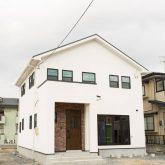 注文住宅 かっこいい工務店 福井建設の家 施工例12 オリジナルスタイル インダストリアルな大人の寛ぎ空間 外観